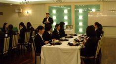 テーブルマナー教室開催(*´Д`*)
